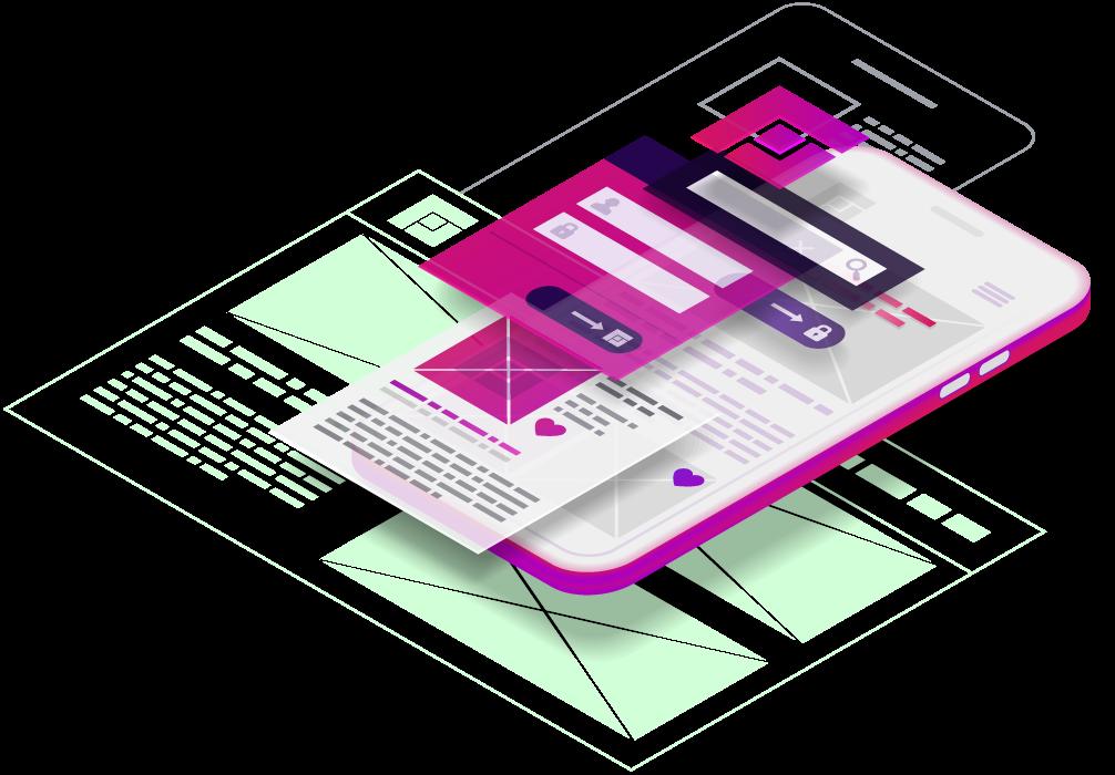 Creapptiva - app para móviles - appDesign