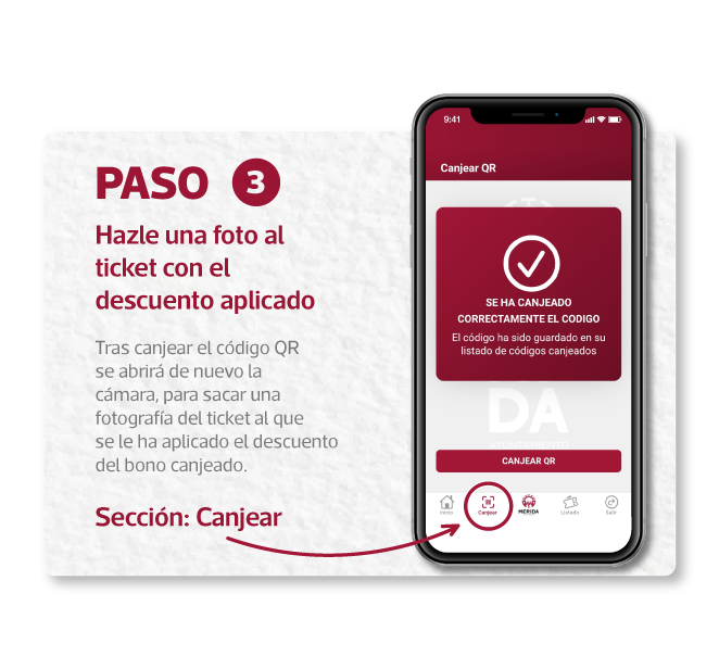 Creapptiva - app para móviles - consume Mérida infografía paso3