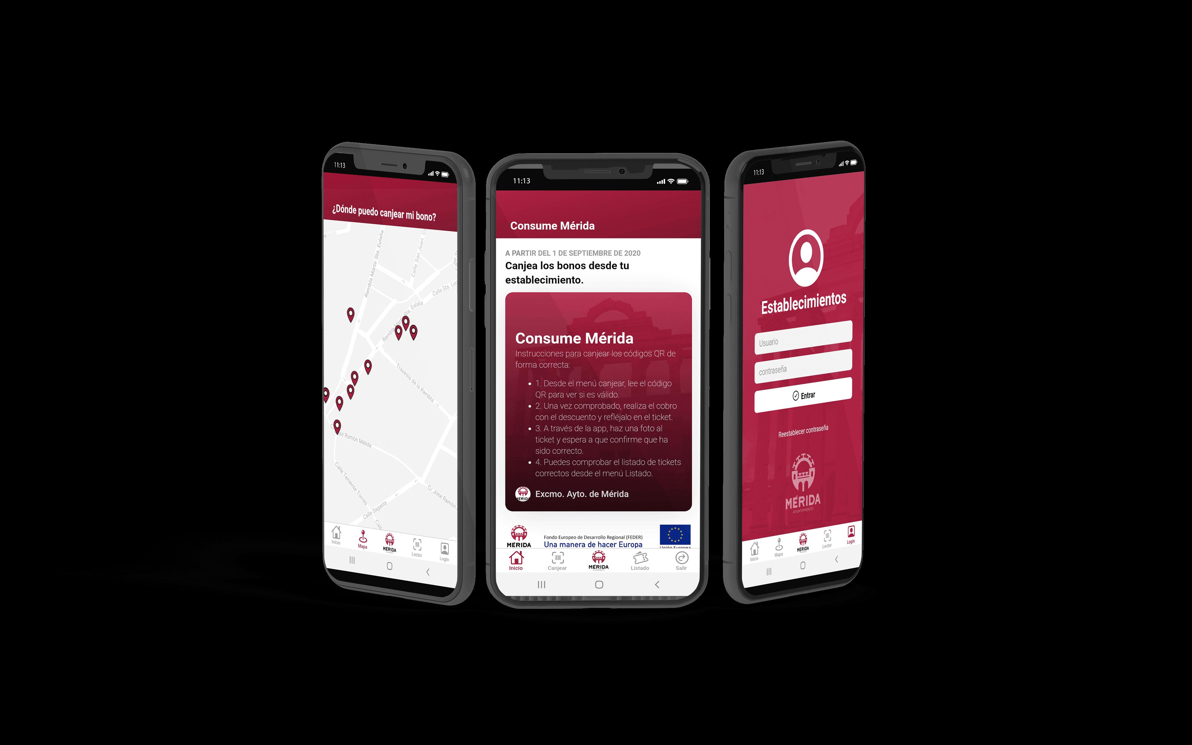 consume Mérida - Creapptiva - app para móviles